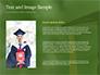 University Graduate Wears Black Cap with Yellow Tassel slide 15