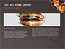Top View of Hamburgers and Sauces slide 14