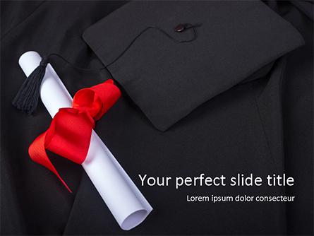 Graduation Day Presentation Template, Master Slide