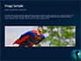 Silhouette of Superman slide 10