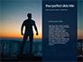 Silhouette of Superman slide 9