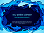 Ocean Paper Cut Style slide 1
