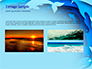 Ocean Paper Cut Style slide 12