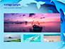 Ocean Paper Cut Style slide 13