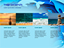 Ocean Paper Cut Style slide 16