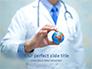 Doctor Holding World Globe slide 1