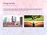 Pink and Blue Mandala Flower Presentation Template slide 12