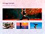 Pink and Blue Mandala Flower Presentation Template slide 13