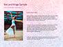 Pink and Blue Mandala Flower Presentation Template slide 15