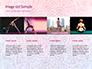Pink and Blue Mandala Flower Presentation Template slide 16