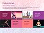 Pink and Blue Mandala Flower Presentation Template slide 17