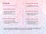 Pink and Blue Mandala Flower Presentation Template slide 2