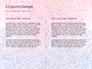 Pink and Blue Mandala Flower Presentation Template slide 5