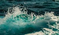 Raging Sea Waves Presentation Template