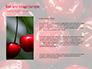 Wet Cherry Closeup slide 15