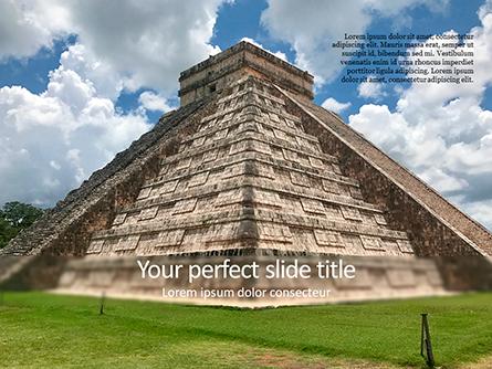 Mesoamerican Pyramid Presentation Template, Master Slide