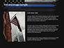 Thin Blue Line American Flag slide 15