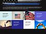 Thin Blue Line American Flag slide 17