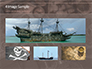 Vintage Pirate Collection on World Map slide 13