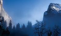 Magnificent Winter Landscape Presentation Template