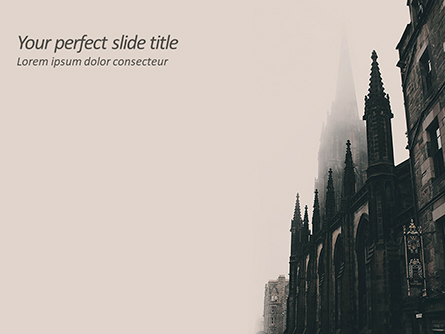Gothic Architecture Presentation Template, Master Slide