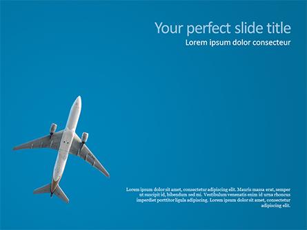 Passenger Plane Presentation Template, Master Slide
