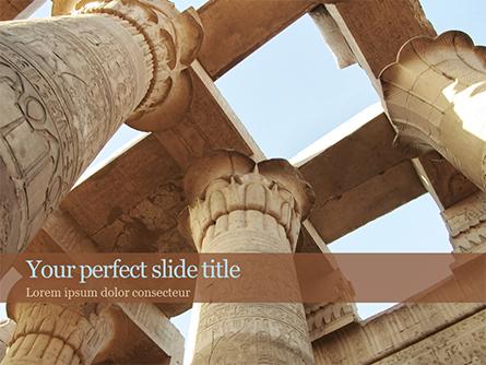 Karnak Temple Presentation Template, Master Slide