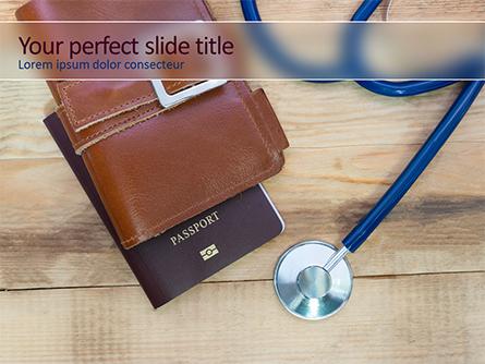 Healthcare Travel Presentation Template, Master Slide