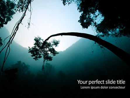 Rainforest Sunrise Presentation Template, Master Slide