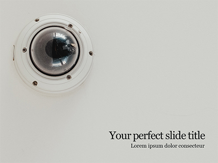 Peephole Presentation Template, Master Slide