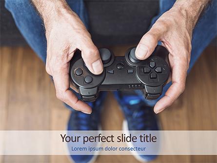 Gamepad Presentation Template, Master Slide