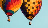 Hot Air Balloon Flights Presentation Template