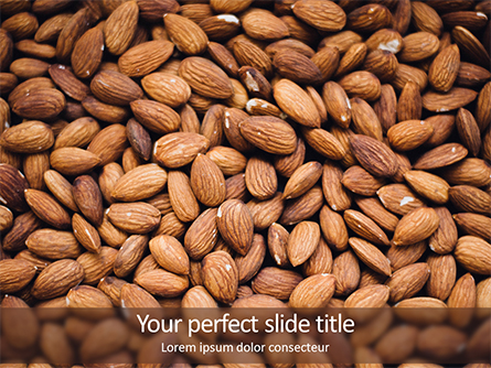 Almond Presentation Template, Master Slide