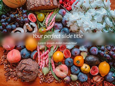 Summer Fruits and Vegetables Presentation Template, Master Slide
