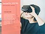 Woman Wearing VR Headset slide 9
