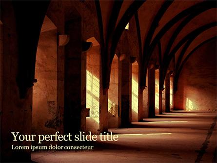 Gothic Hall Presentation Template, Master Slide
