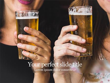 Beer Party Presentation Template, Master Slide