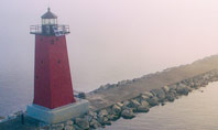 Manistique East Breakwater Light Presentation Template