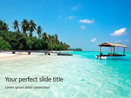 The Maldives Presentation Template, Master Slide