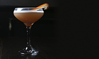 Cocktail with Orange Presentation Template