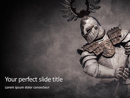 Medieval Armor Presentation Template, Master Slide
