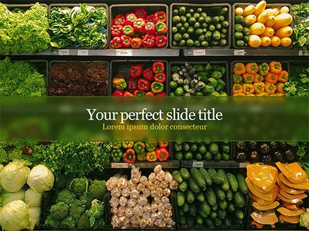 Vegetable Shop Presentation Template, Master Slide