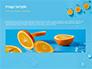 Summer Background with Oranges slide 10