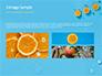 Summer Background with Oranges slide 12