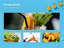 Summer Background with Oranges slide 13