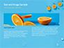 Summer Background with Oranges slide 14