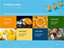 Summer Background with Oranges slide 17