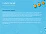 Summer Background with Oranges slide 4