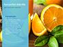 Summer Background with Oranges slide 9