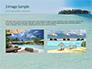 Beautiful Beach with Palm Trees slide 12